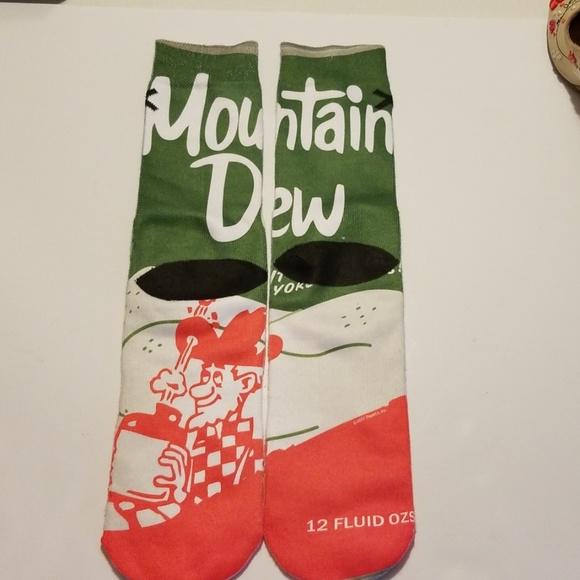 Pepsi Other - Mountain Dew Socks